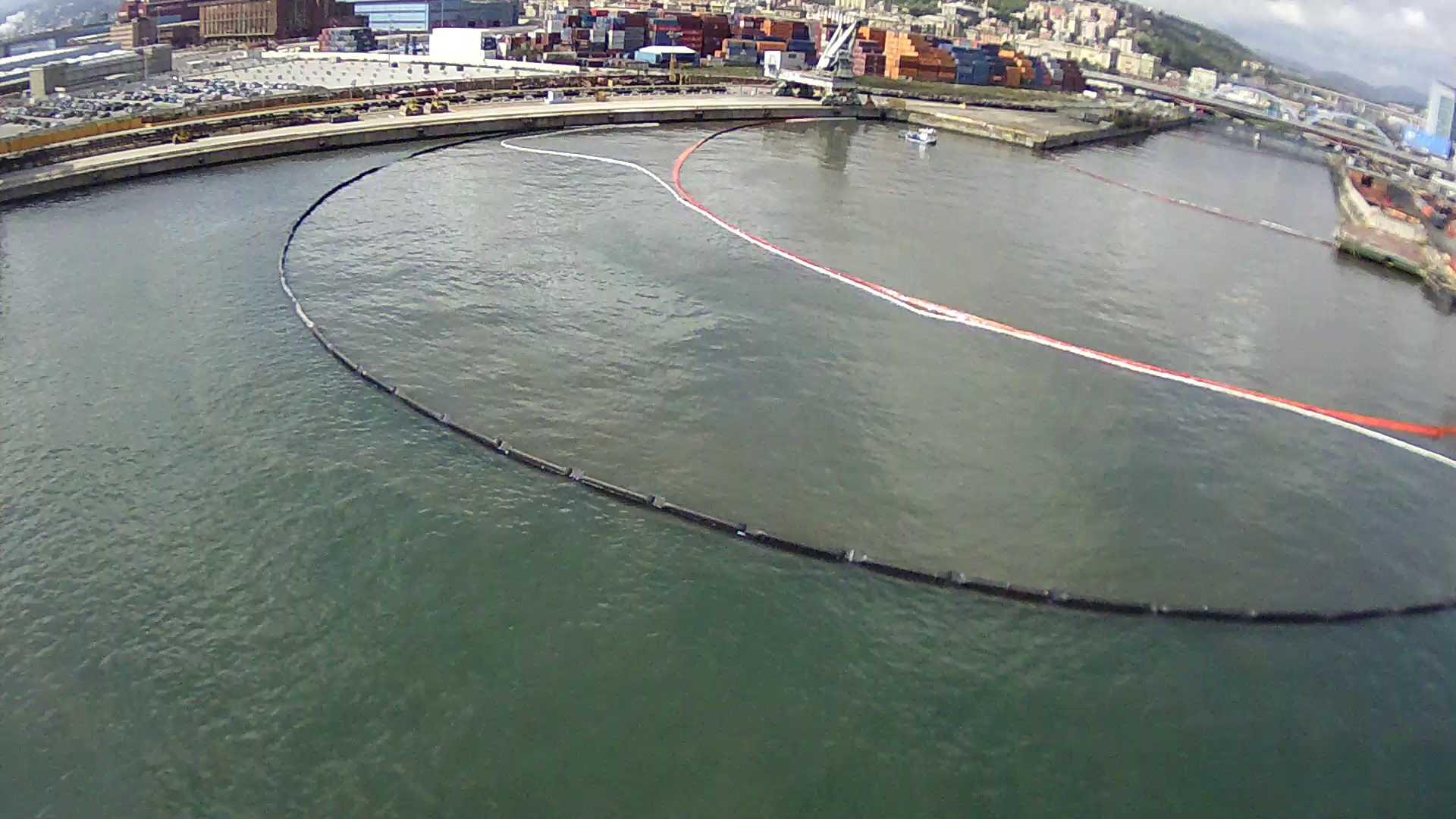 Castalia deploys Hawk Owl at Genoa Port Oil Spill